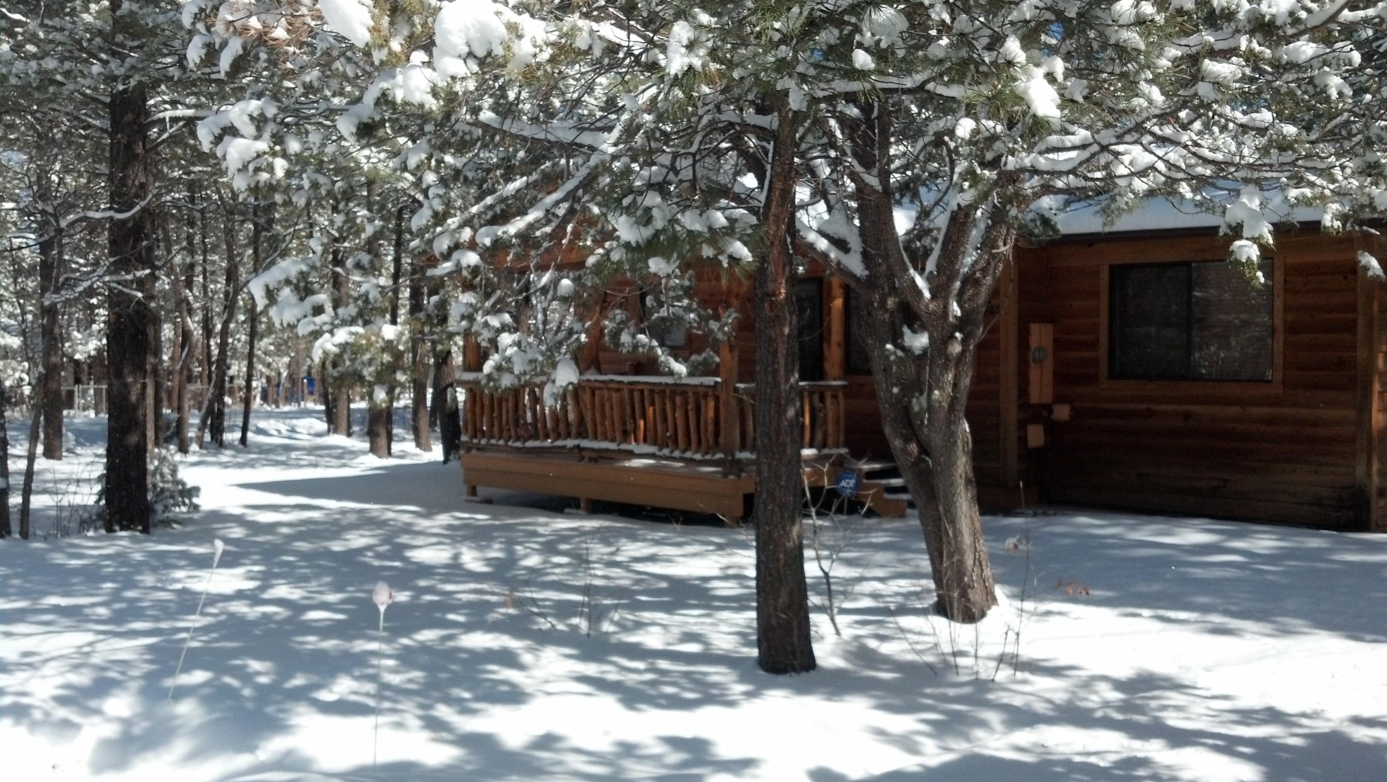 rental pinetop rentals cabins attachment arizona pines lakeside starbright cabin white