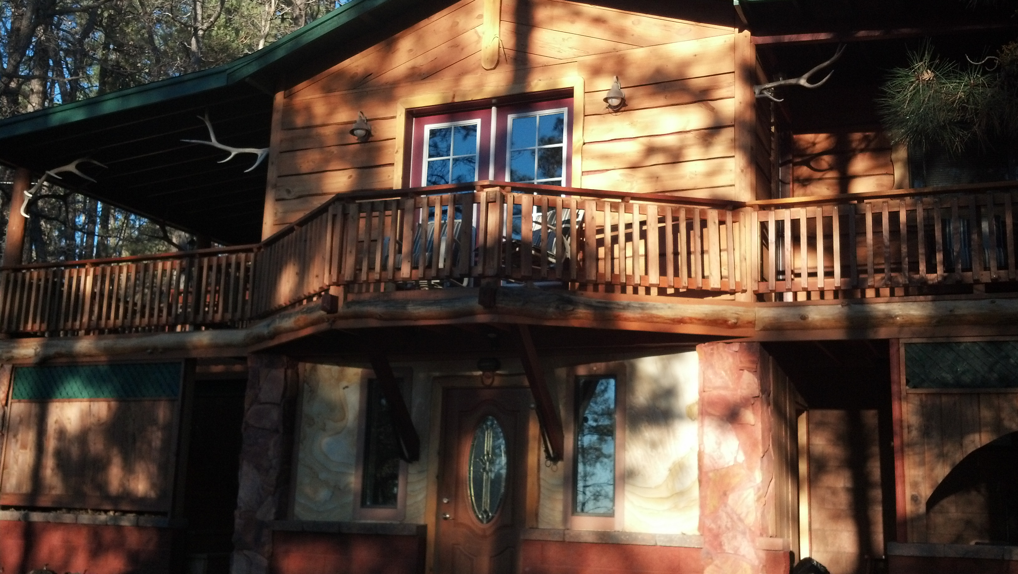 pinetop arizona nestled cabins rooms lakeside the houses rent united pines cedar states home in for