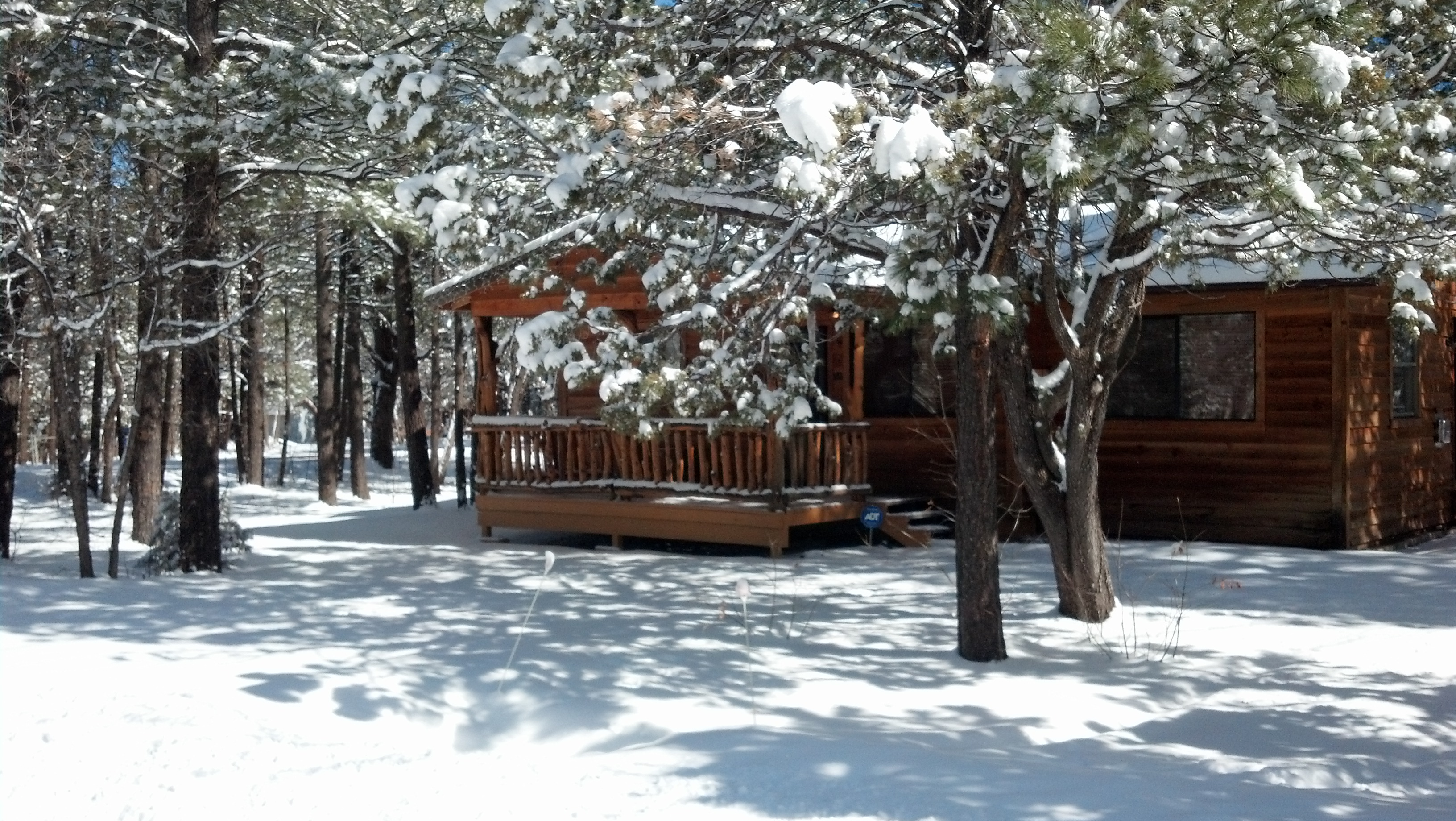 blue parkway ridge img photo galleries winter cabin cabins rentals