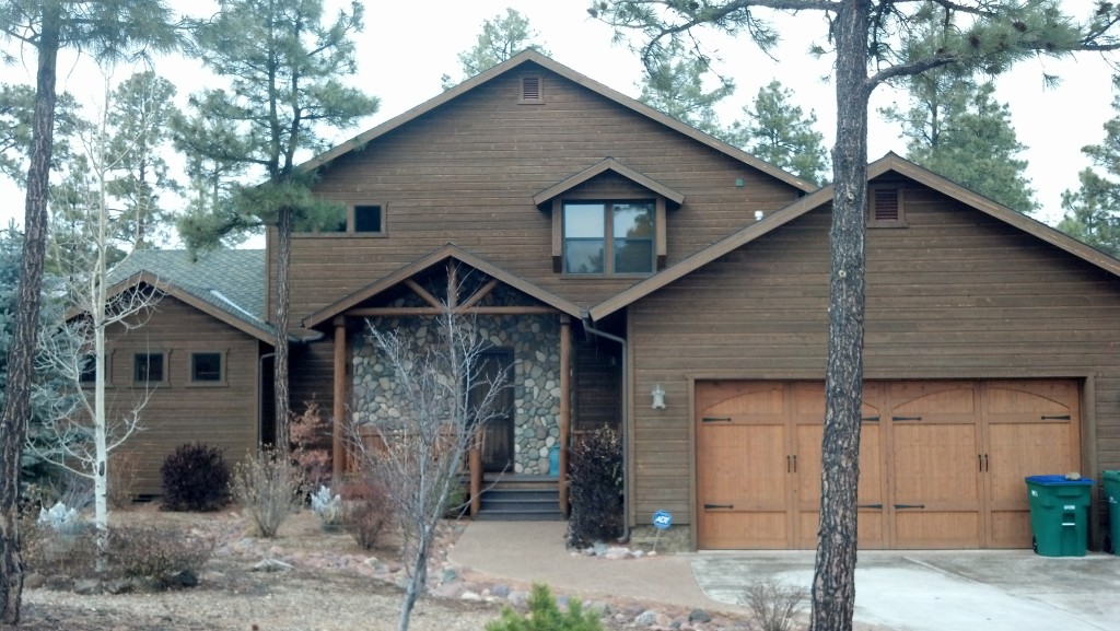 Show Low Arizona Cabin Rental - Luxury Golf Course Cabin