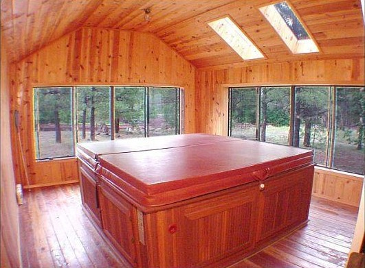 Az Cabin Rentals With Hot Tub Of Pinetop Arizona Vacation Cabin Rental White Mountain