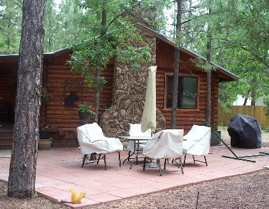 Little Bear Log Cabin Pinetop Arizona