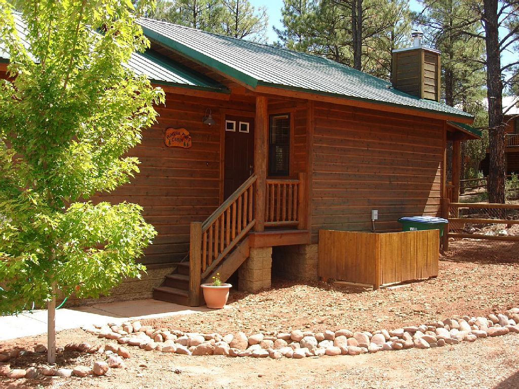 Peaceful Pines Cabin Az White Mountain Cabin Rentals