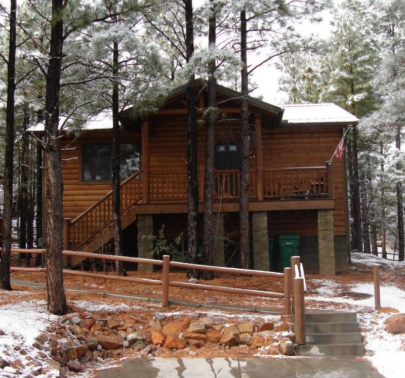 Pine Cone Cabin Show Low Az White Mountain Cabin Rentals