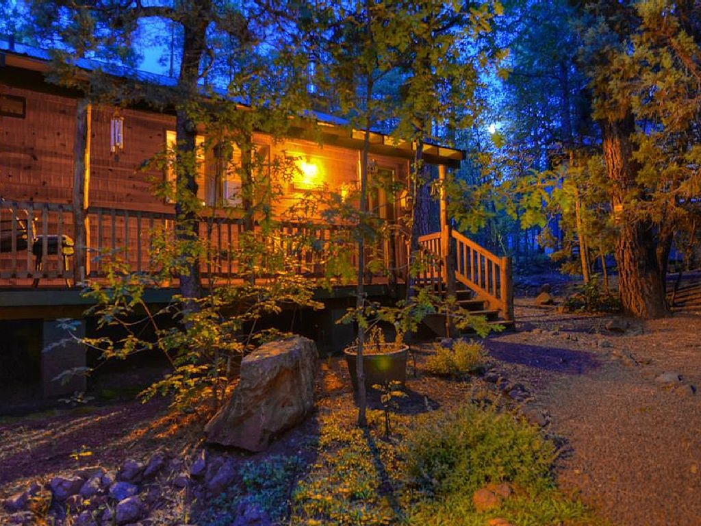 This Country Mountain Cabin is Right Off the Pages of a Magazine!