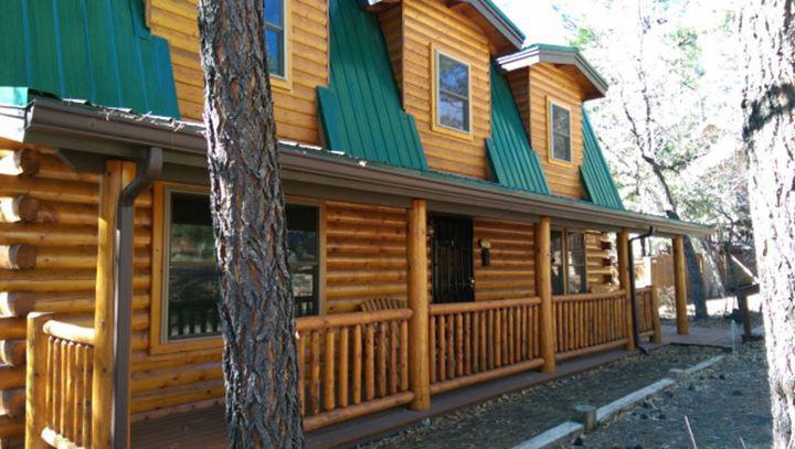 big pine cabin lakeside az white mountain cabin rentals