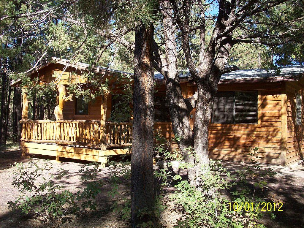 Starbright Pines Rental Pinetop White Mountain Cabin